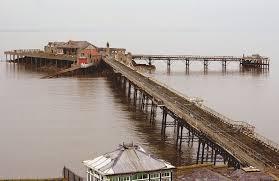 Weston-super-Mare's Old Pier. ©Wikipedia