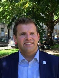 Ben Howlett, MP for Bath.