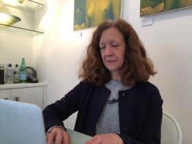 Gallery owner, Jenny Pollitt.