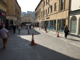 The new level surface in Stall Street.