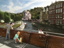 Bath gets to vote for a bridge.