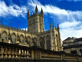 Bath Abbey - the lantern of the west!