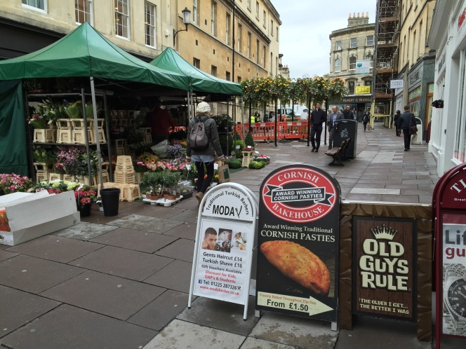 A plug for Bath's street traders, a shared city service and a lotmore!