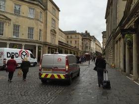 What's a Bristol parking van doing in Bath?