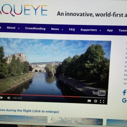 A page from the Aqueye.co.uk website.