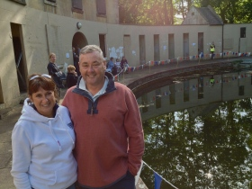 Brother and sister Karen Cottle and Paul Wilczek both swam at the Pools in the late 70s, as youngsters.
