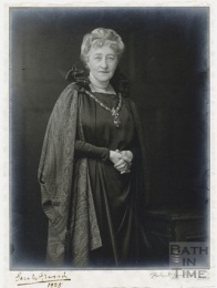 Madam Sarah Grand, Mayoress of Bath, 1925 © Bath in Time - Bath Central Library Collection