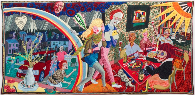 Grayson Perry & the Bloomsbury Group feature at Victoria Gallery in2016