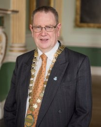 Chairman of B&NES, Cllr Ian Gilchrist.