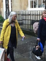 Mary Beard in Bath this week.