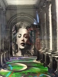 Marilyn in Bath Colonnades.