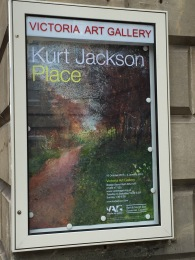 Kurt Jackson's Place is currently showing at Bath's Victoria Art Gallery.
