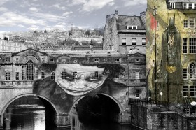 Pulteney Bridge gets the Jacqui Howell treatment!