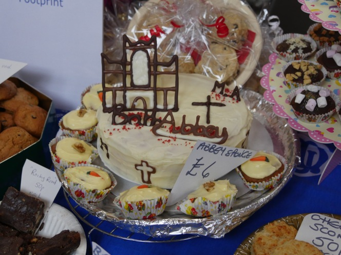 Bath Abbey Bake attracts record crowd.