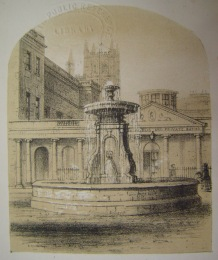 The Bath Street fountain by Henry Palmer.