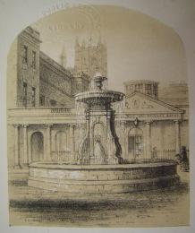 The Bath Street fountain by Henry Palmer.