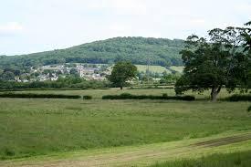 Green fields at Bathampton.