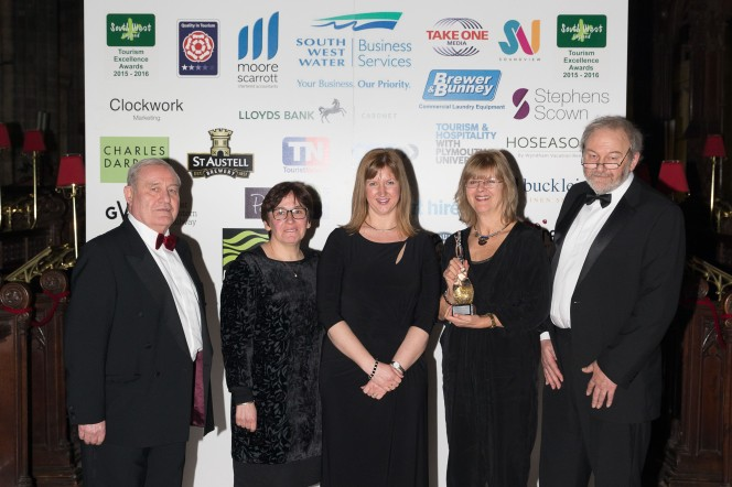 Gold award for Roman Baths