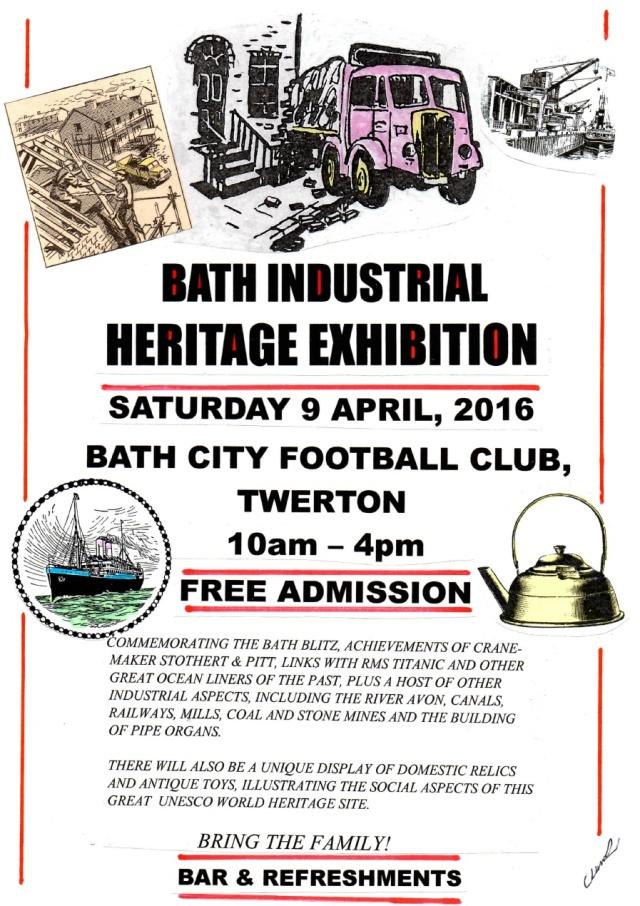 Bath Industrial Heritage Day 2016