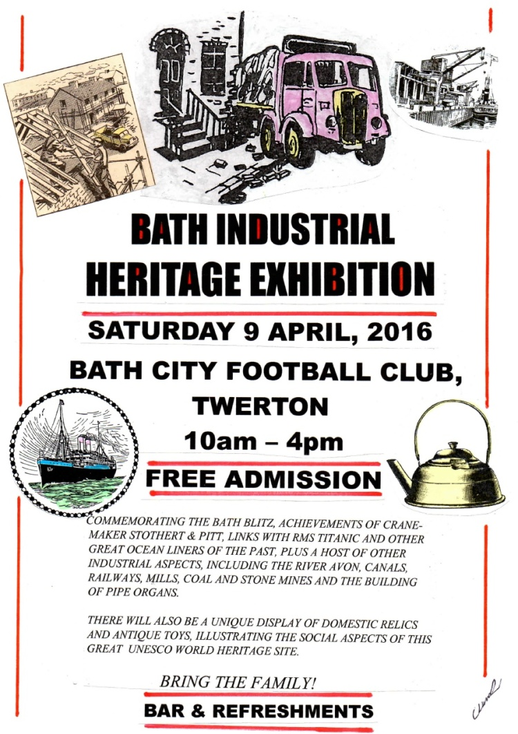 Bath Industrial Heritage Day 2016