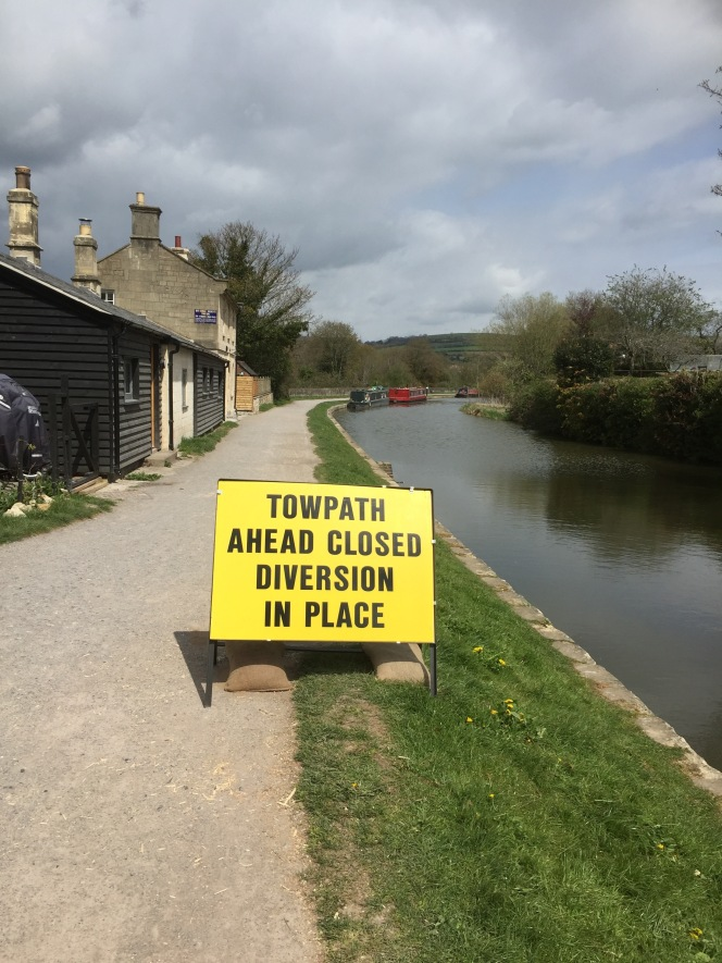 Second canal towpath closure coming up!