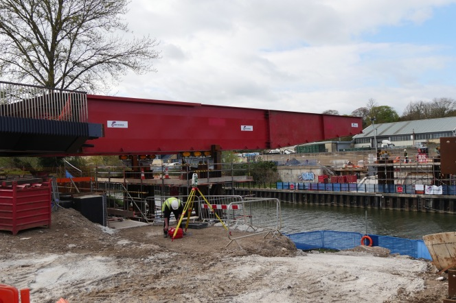Second bridge roll-out attempt May 5 & 6?