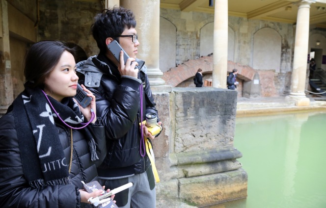 Roman Baths spread the word.