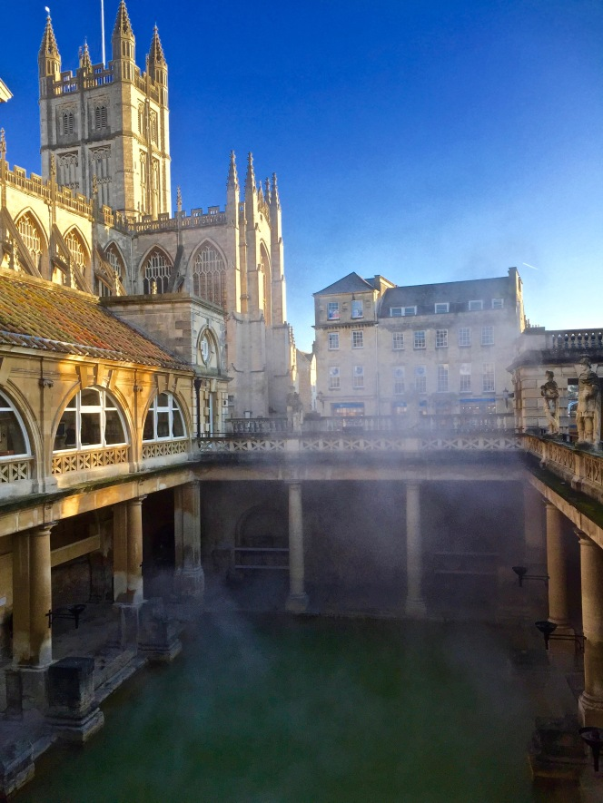 Torchlit Summer Evenings at the Roman Baths in Bath