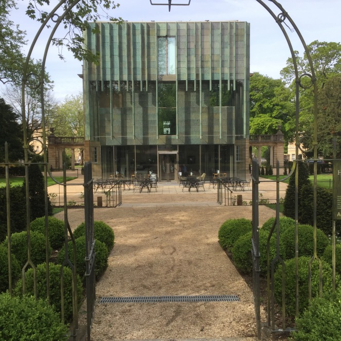 Park gate now open at the Holburne