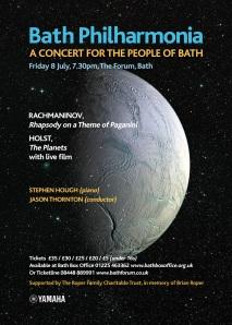 Bath's musical window intospace.