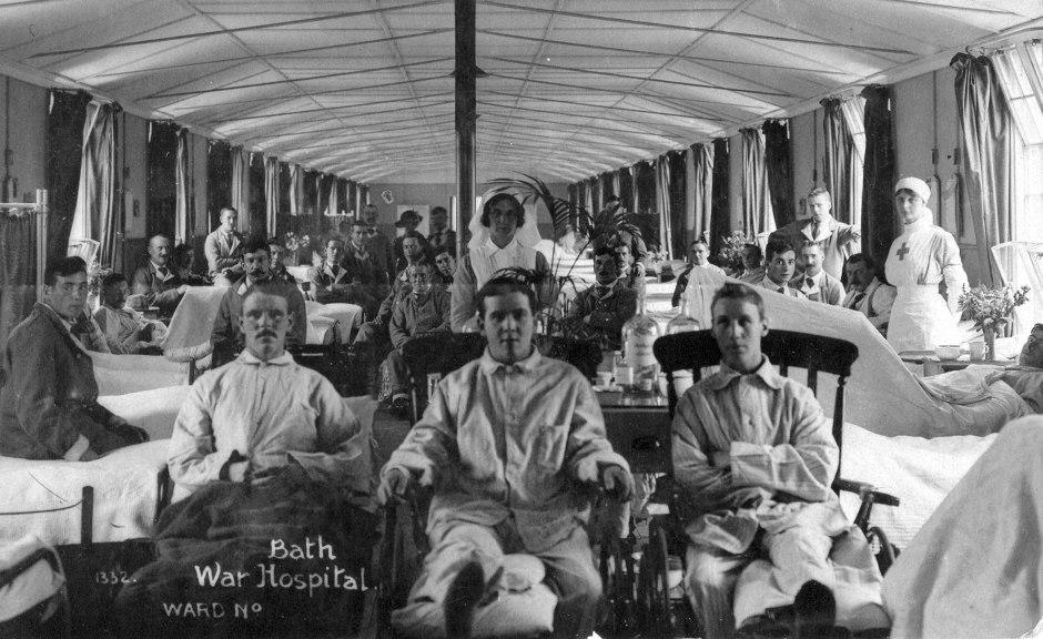 WARD AT BATH WAR HOSPITAL