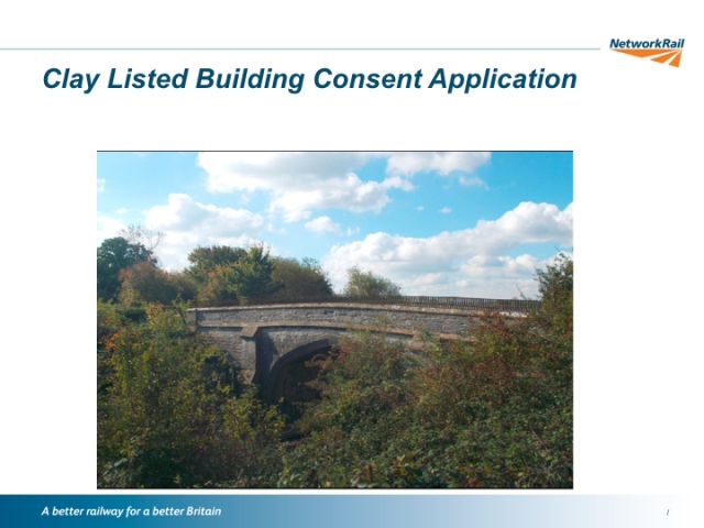 Clay Listed Building Consent Application.001