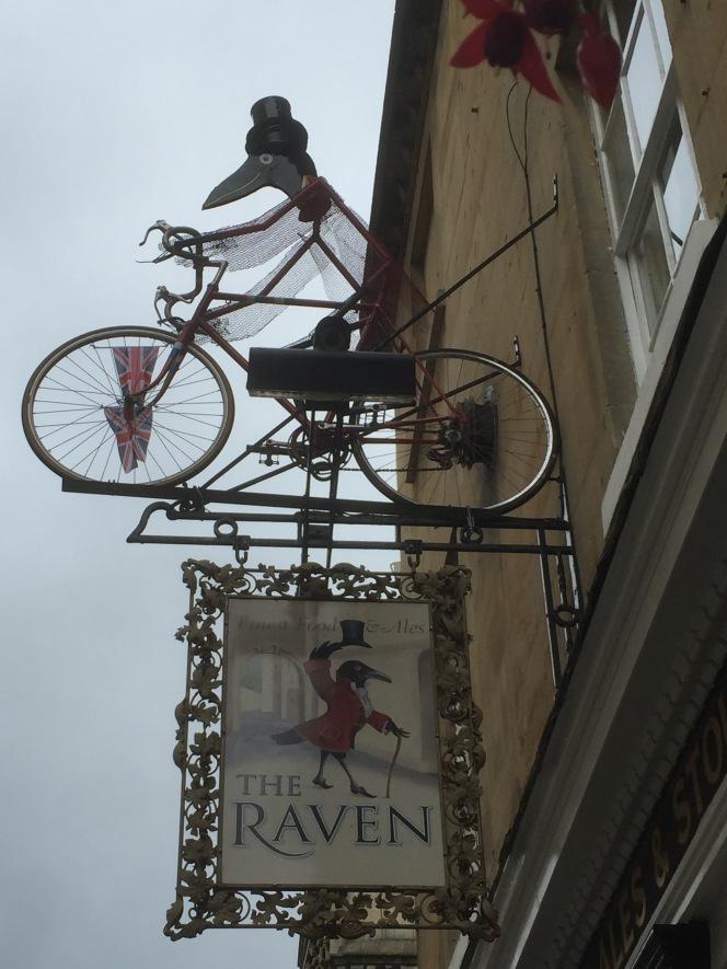 On your bike,Bath.