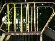 Good news for rusting Larkhall play area
