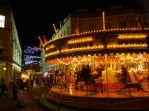 A Christmas Carousel.
