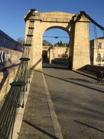 Victoria Bridge gets aweeding!