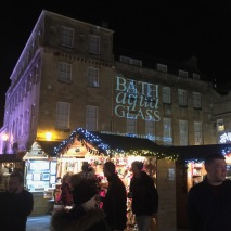 Christmas market underway