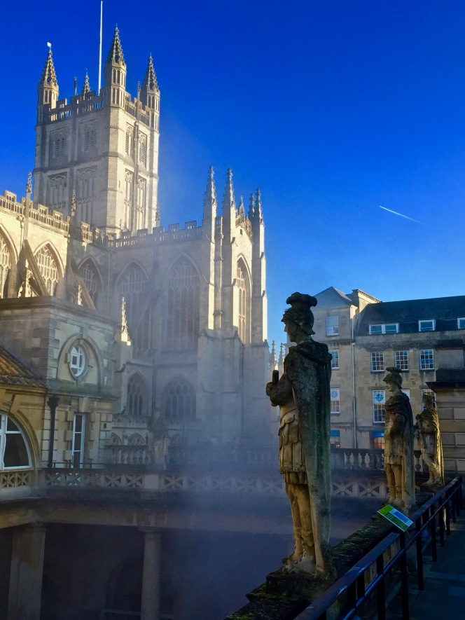 Roman Baths' statues to undergo conservation work