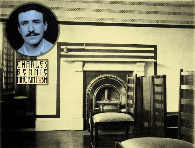 Charles Rennie Mackintosh designed bedroom returns home to Bath.