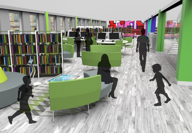 How do you want your new 'modern' library?