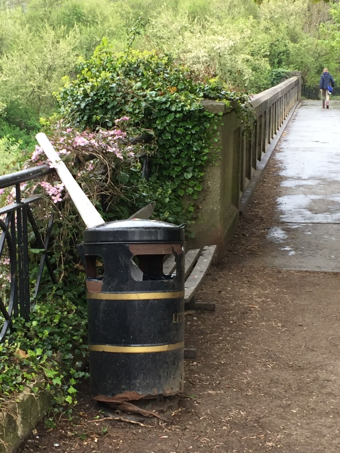 Bins, benches and a fresh lick ofpaint.