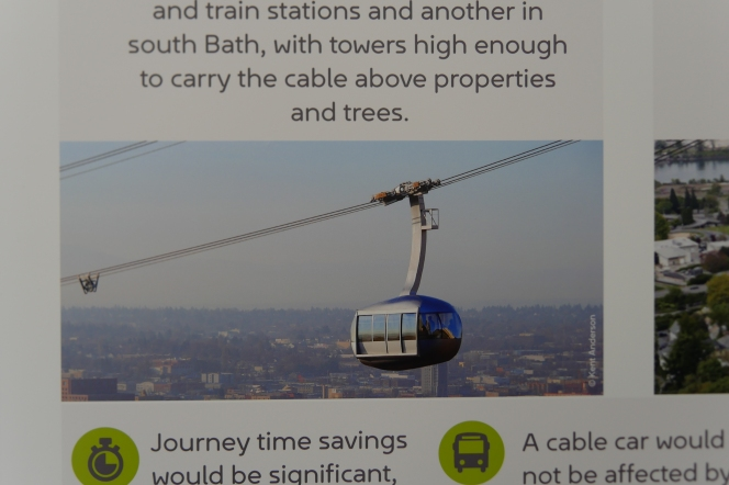 We won't force the cable car on you says Curochief.