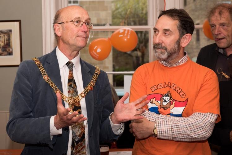 Mayor of Bath Alkmaar Cafe May 2017