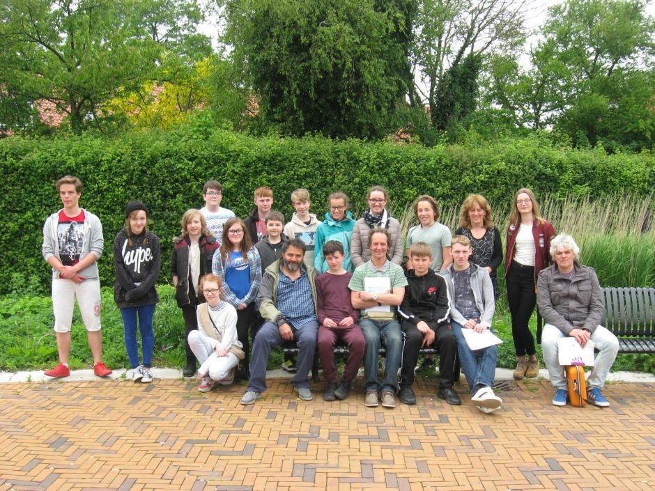 BCA pupils in Alkmaar