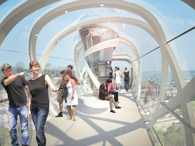 New images of proposed cable car for Bath.