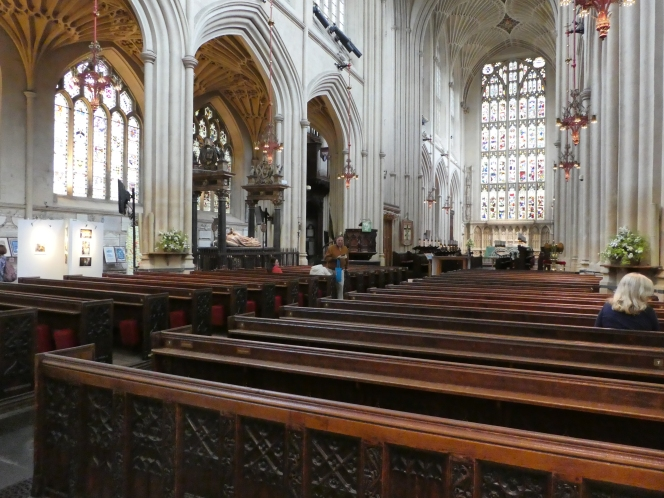 Stand by Bath – for the 'battle' of thepews.