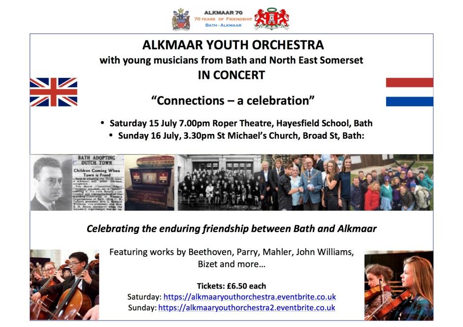 Alkmaar Youth Orchestra concerts flyer V5