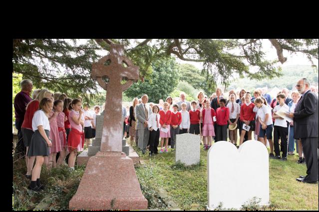 Kaddish spoken at Memorial to Eli & Ida Prins 2017