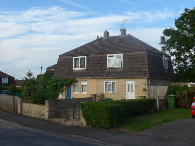 two Cornish houses