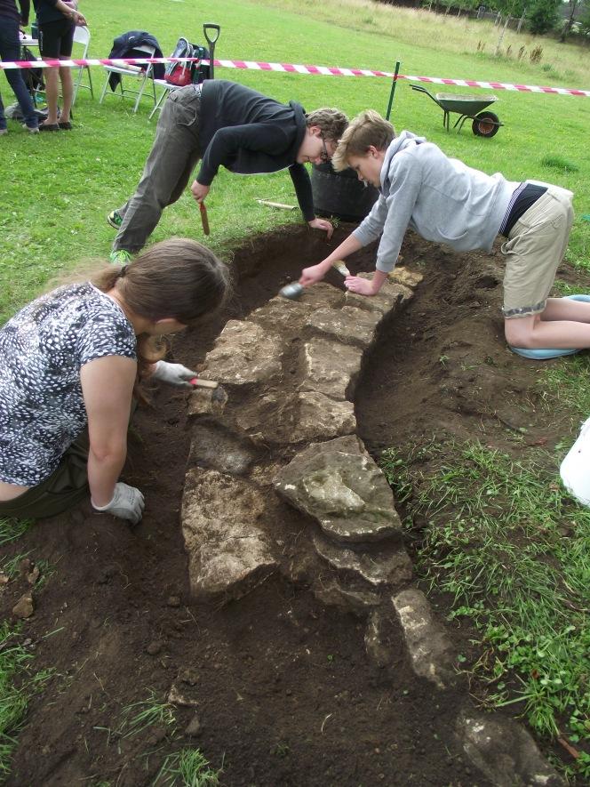 Bath's 'Stone Age'attraction.
